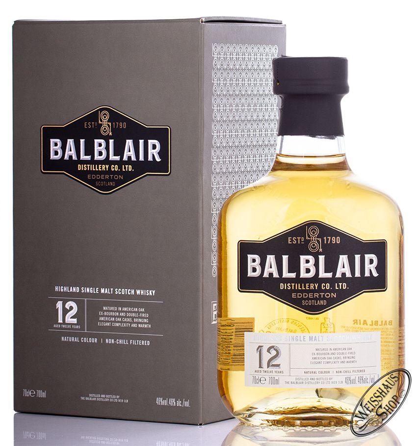 Balblair 12 year old Single Malt Whisky 70cl - £33.84 @ Amazon