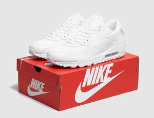 Nike Air Max 90 trainers now £63 with code sizes 6, 7.5, 8, 10, 10.5 12 @ Size? Free Click & Collect or £3.99 Postage