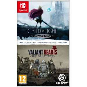 [Nintendo Switch] Child Of Light & Valiant Hearts Double Pack - £14.95 delivered @ The Game Collection