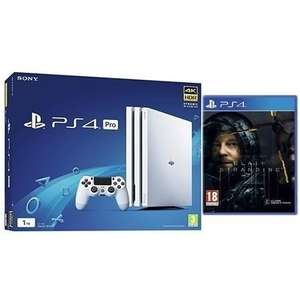 Sony PlayStation 1TB Pro White with Death Stranding with Dual Shock 4 Controller £279 @ Laptops Direct