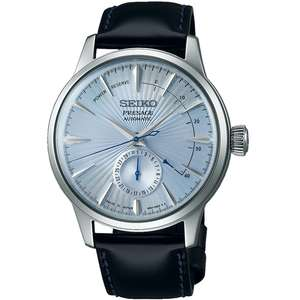Seiko Presage Cocktail Time Automatic Power Reserve Date Watch (SSA343J1) - £287.90 With code @ WatchO
