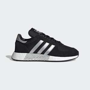 Adidas OG marathon x5923 boost trainers (Grey / Black / Maroon) £29.99 delivered @ Get The Label with code stack