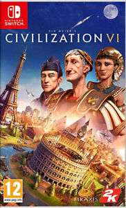 Sid Meier's Civilization VI (Switch) £23.18 @ The Game Collection Ebay