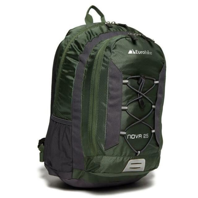 Green (black in description) Eurohike Nova 25L Daysack, £9.60 delivered from eBay / Blacks Outdoors