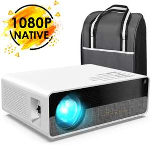 ELEPHAS Projector Q9 Native 1080P HD Video Projector - £154.99 Sold by Glomark Source and Fulfilled by Amazon
