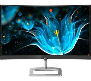 "PHILIPS 248E9QHSB Full HD 23.6"" Curved LED Monitor - £78.95 @ Ebay / Curry Clearance"