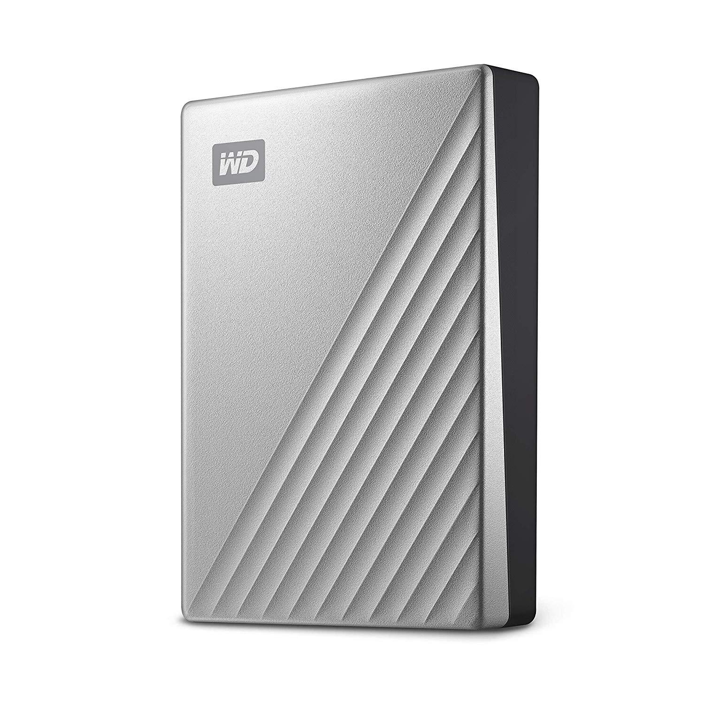 WD 4 TB My Passport Ultra, USB-C ready Silver - £80.78 @ Amazon