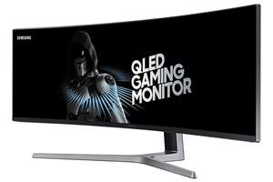 """49"""" QLED Gaming Monitor with 32:9 Super Ultra-wide screen - £699.99 @ Amazon"""