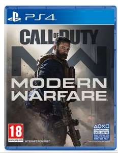 Modern Warfare PS4 - Used (V.Good Condition) - £26.92 @ Amazon Warehouse