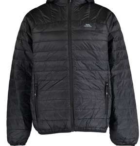 TRESPASS Black Down Filled Jacket - £39.99 + £1.99 click and collect @ Tk Maxx