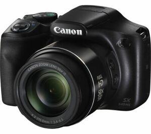 CANON PowerShot SX540 HS Bridge Camera - Black - DAMAGED BOX £143.28 @ Currys Ebay