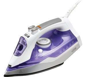 LOGIK L200IR17 Steam Iron - Purple for £9.99 (click and collect) at Currys