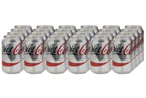 Coca-Cola Diet Soft Drink 330ml Can (Pack of 24) £6.50 + £4.49 NP @ Amazon