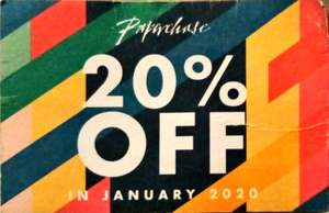 20% off Full price items with code at Paperchase