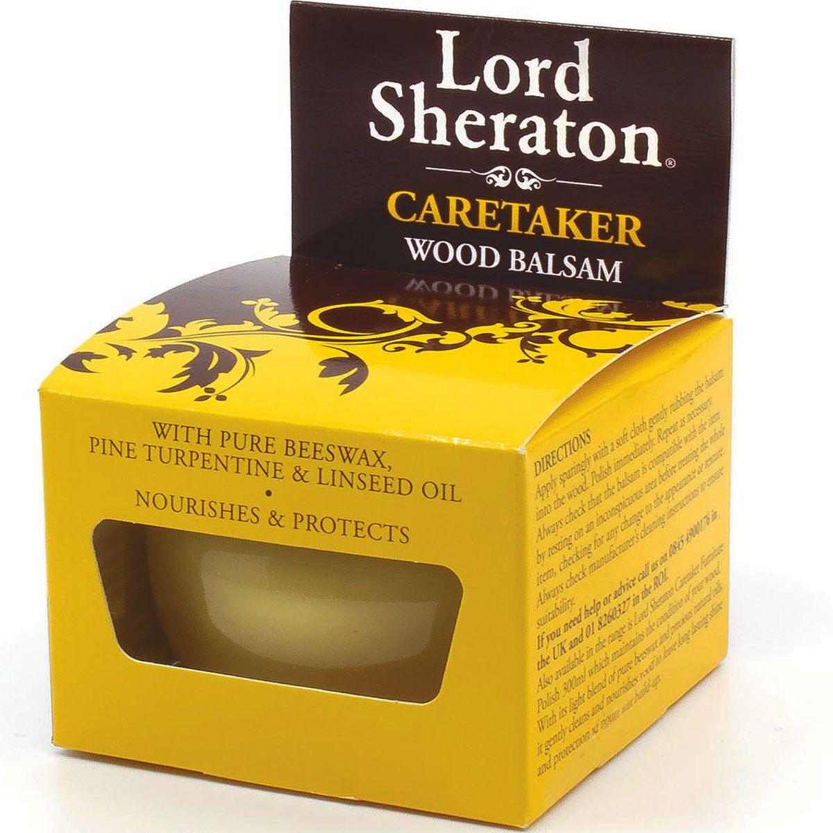 Lord Sheraton Caretaker Original Wood Balsam 75ml for 50p @ Wilko (instore / c&c £2)