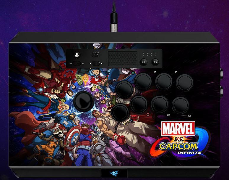 RAZER Panthera PS4 Marvel Vs Capcom Infinite edition Fight/Arcade Stick £105.99 Razer