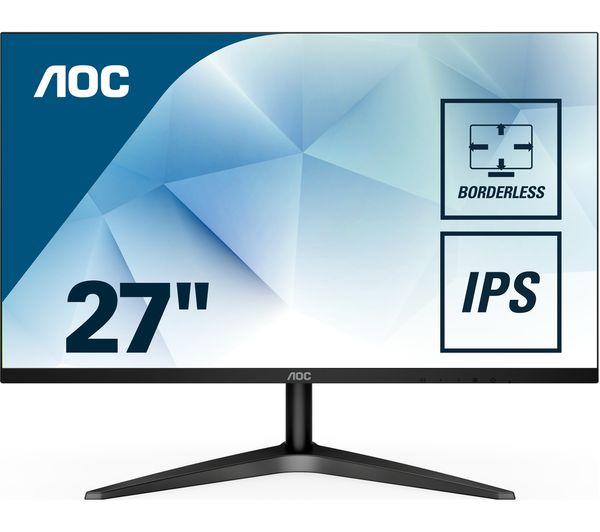 "AOC 27B1H 27"" FHD LED IPS Monitor £119 @ Currys"
