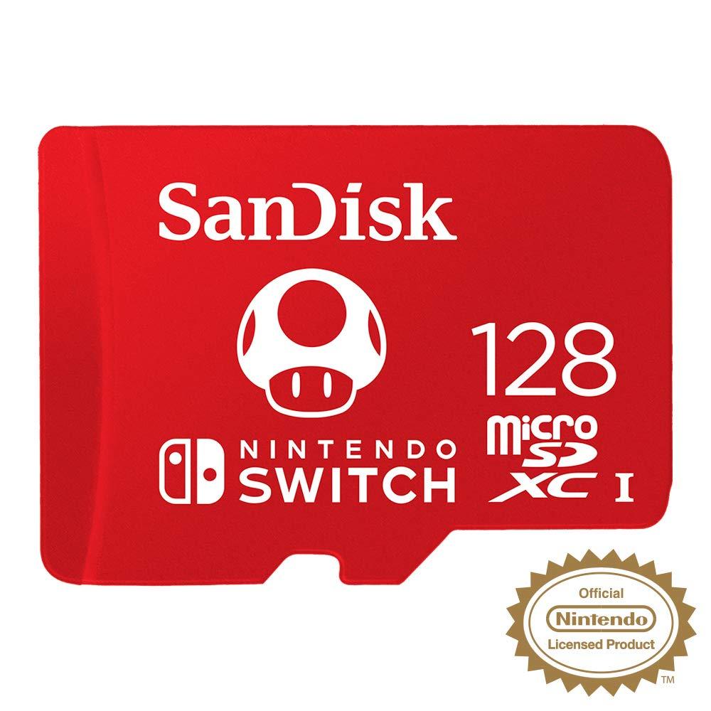 SanDisk SDSQXAO-128G-GNCZN microSDXC UHS-I Card for Nintendo Switch, £24.79 + FREE Shipping @ Amazon UK