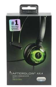 Afterglow Mono Communicator Xbox 360 Headset for £3.99/4Gamers PRO4-MONO Chat PS4 £9.99 Free Click and Collect @ Argos