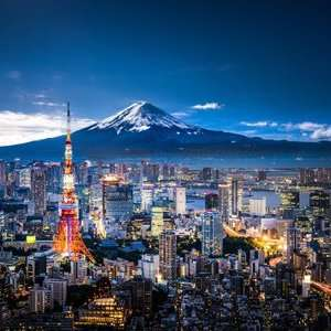 Return flight to Tokyo £359 (Departing LGW / Feb - June departures / Including 2 x 23kg checked baggage) @ Skyscanner / Travel Up