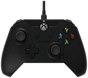 Xbox One Licensed Wired Controller - Black - £16.99 @ Argos
