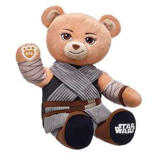 Build a bear flash sale - selected bears £10.20 online only including Star Wars Rey - shipping £3.99 or free over £25