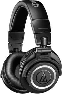 Audio Technica ATH-M50XBT Wireless Over-Ear Portable Headphones in Black - £115.23 @ Amazon Italy