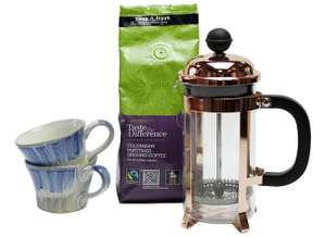 Sainsbury's Home Coffee Gift Set now £10 free click and collect at Argos