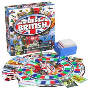 Drumond Park The Best of British Board Game now £7.50 (Prime) + £11.99 (non Prime) at Amazon
