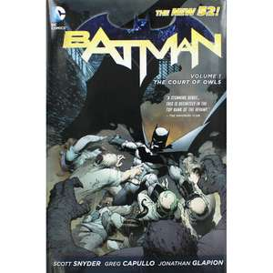 Batman The Court Of Owls Graphic Novel Hardcover 176 Pages £6.00 @ The Works (Free C&C)