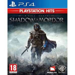 Middle-Earth Shadow of Mordor PS4 Game (PlayStation Hits) for £6.95 Delivered @ The Game Collection