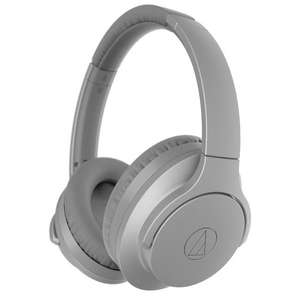 Audio Technica ATH-ANC700BT Noise Cancelling Wireless Bluetooth QuietPoint Headphones Grey £99 with code for free delivery @ Electric Shop