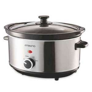 Ambiano 3 Litre slow cooker £4.79 @ Aldi (East Grinstead)