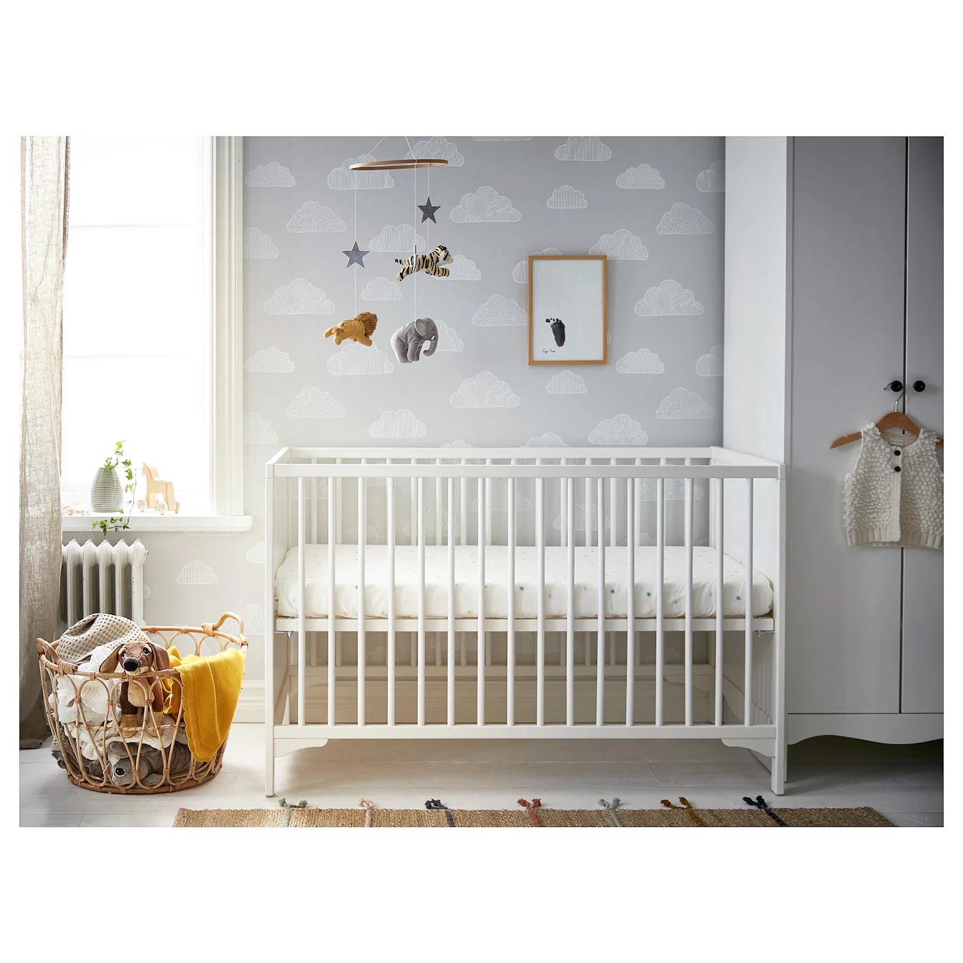 Ikea Solgul Baby Cot White 60x120 cm £50.00 @ Ikea (In-Store)