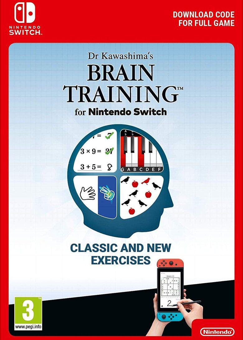 Dr. Kawashima's Brain Training (Nintendo Switch Digital) £16.83 using code @ eneba / Games Federation