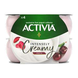 Activia Creamy Cherry Yogurt 4 pack 69p at Heron Foods, in-store at Liscard (Wirral)