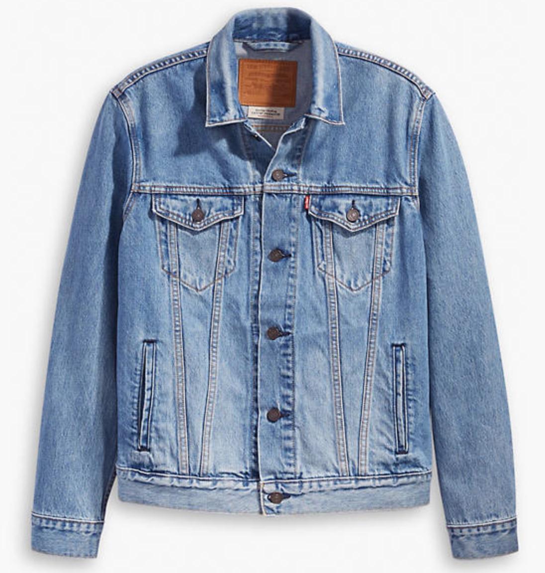 Levi's Premium Men's Denim Trucker Jacket - £20.00 instore @ Topman, Birmingham Bullring