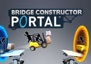 Bridge Constructor Portal (Steam PC) 39p with code @ Gamivo