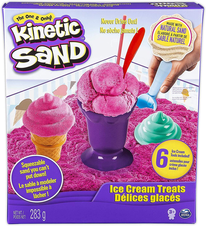 Kinetic Sand Ice Cream Treats - £5 (Prime) £9.49 (Non Prime) @ Amazon