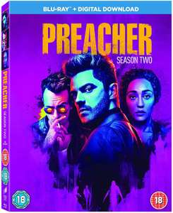 Preacher season 2 blu ray & digital download boxset £8.18 @ Amazon prime / £2.99 delivery non prime