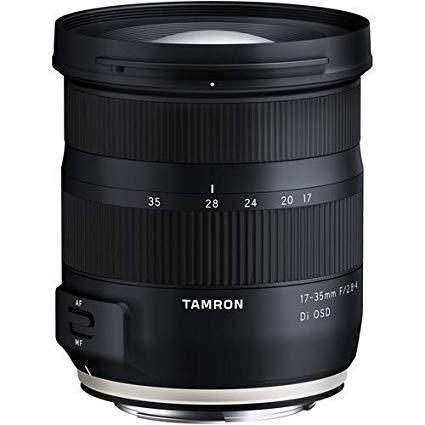 Tamron A037 Lens 17-35 mm f/2.8 Di OSD Black nikon fit - £428.84 @ Amazon