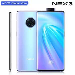 Original vivo NEX 3 4G Mobile Phone 8GB 128GB Snapdragon 855 Plus 6.89-inch Screen £465.02 @ Mobile Phone Store/Aliexpress