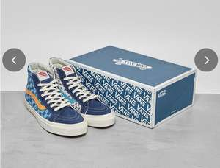 Vans Vault Hi blue / Red £20 at FootPatrol