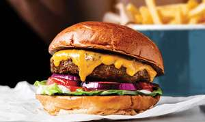 50% off food at Byron Burger all of January for Students via Unidays