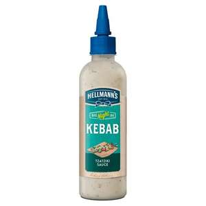 Hellmann's Big Night in Tzatziki Kebab Sauce  Only 39p a bottle in Heron Foods Stockton