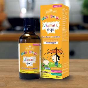 Natures Aid Vitamin C Drops, Immune Health for Infants and Children, Sugar Free, 50 ml £3.55 free prime delivery or £4.49 NP @ Amazon