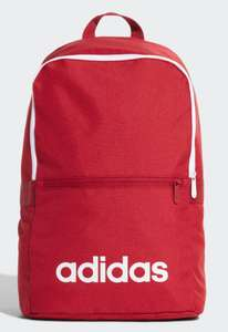 Adidas Linear Classic Daily Backpack £8.62 with code @ Adidas Free C&C or £3.99 p&p