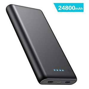 iPosible Fast Charging Power Bank, Portable Charger 24800mAh £14.95 with voucher + £4.49 NP Sold by iposibledirect and Fulfilled by Amazon