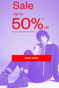 Sale Now On SAVE 50% @ Pepe Jean's London Free delivery on £30 Spend