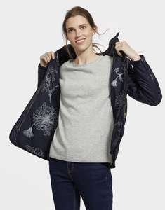 Womens Navy Joules Quilted Coat 6, 8, 10 - £23.35 With Code @ Joules - Free Delivery